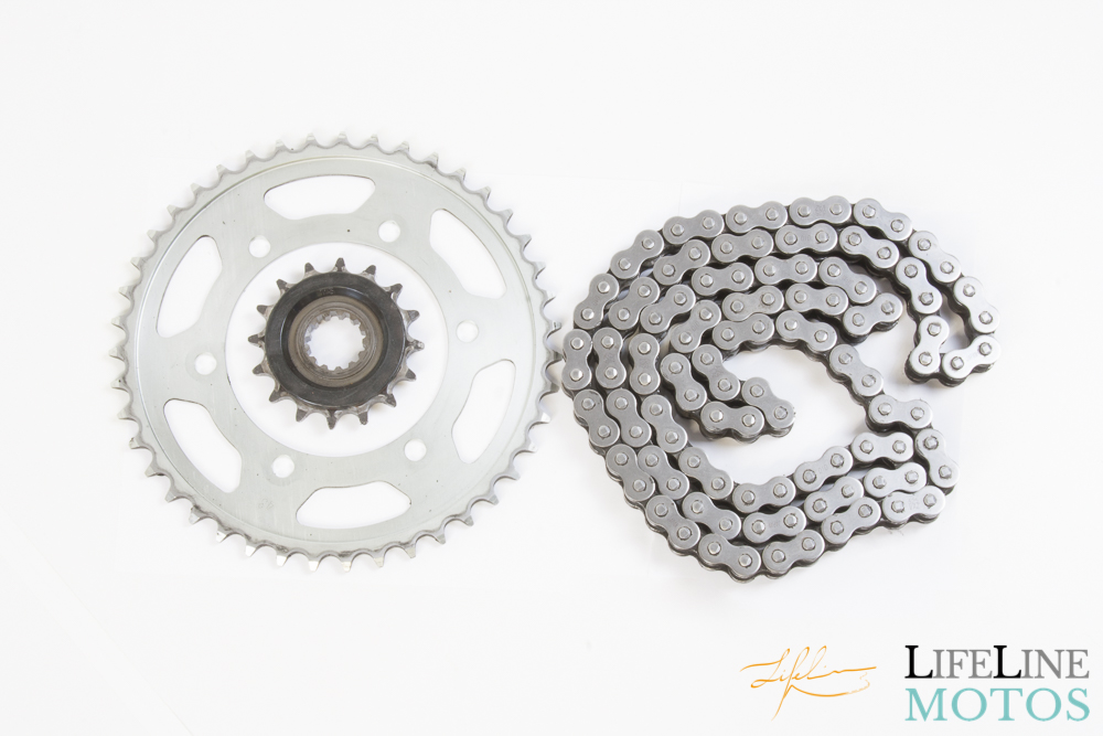 kit chaine yamaha mt07 306 km 2014 2017 lifeline motos. Black Bedroom Furniture Sets. Home Design Ideas