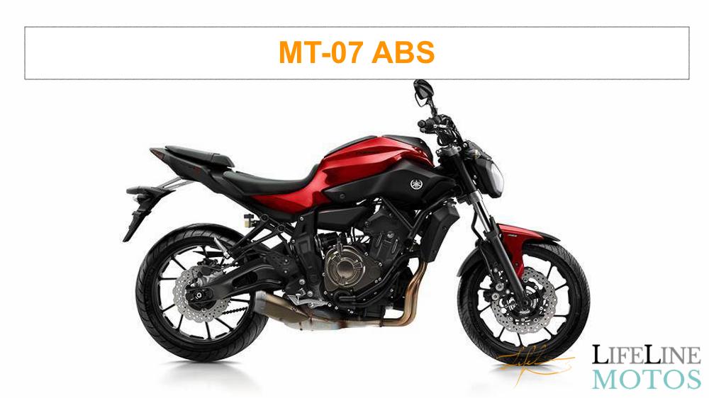 yamaha mt 07 abs rouge 2014 lifeline motos. Black Bedroom Furniture Sets. Home Design Ideas