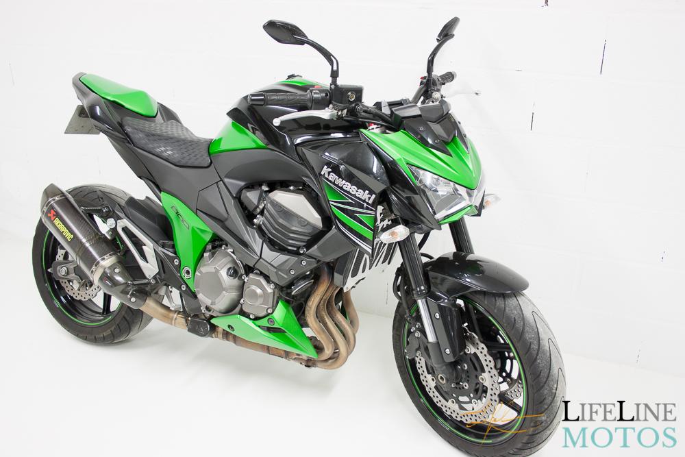 Z800 vert et noir 2013