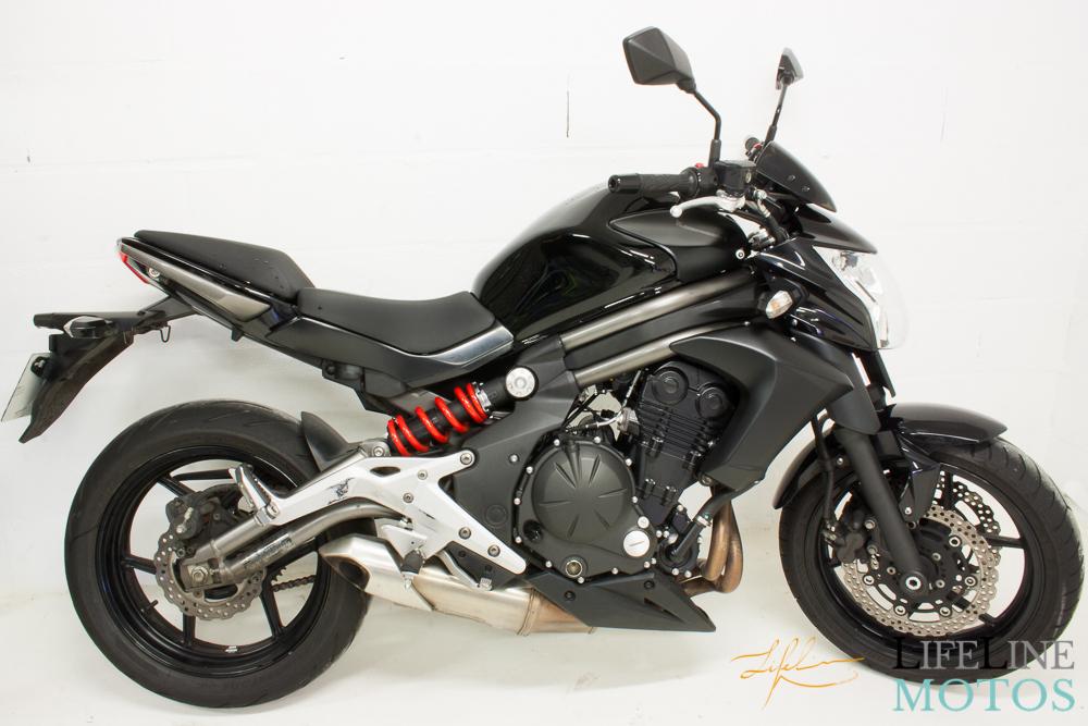 Kawasaki er6n noire 2012-3
