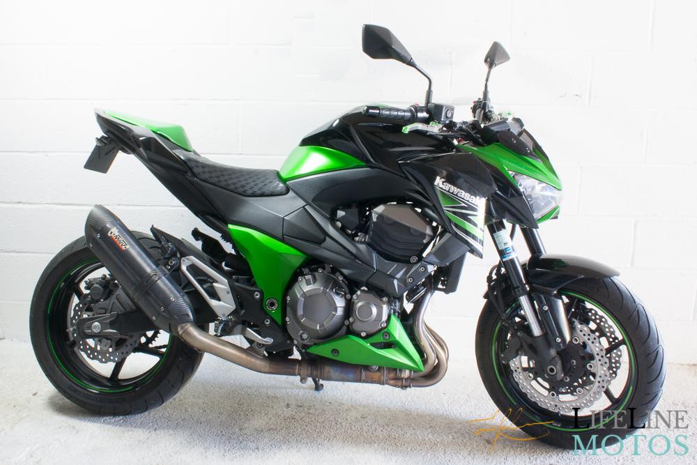 Z800 biton vert et noir 2014